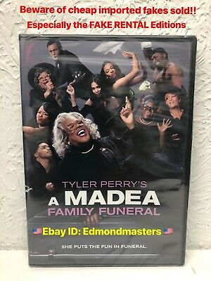 A Madea Family Funeral 2019 DVD Tyler Perry AUTHENTIC!! Beware of Cheap Fakes!!