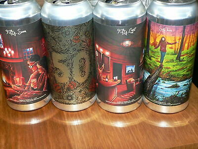 4 Collectible TREE HOUSE BREWING IPA Beer Cans-EMPTY CANS-Curiosity Series