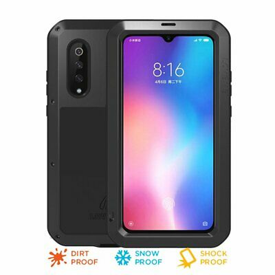 Metal Armor Shockproof Case Cover For Xiaomi Mi 9 Mi9 Heavy Duty Full Protection