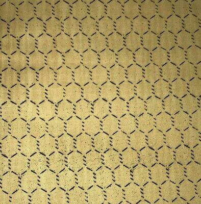 "1/2 Yd Chicken Wire ""Rise and Shine"" Wilmington Cotton Quilt Fabric BTHY"