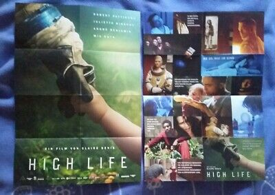 Robert Pattinson High Life Movie Fold Out Poster Promo Flyer