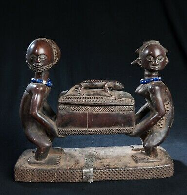 Luba, Divination Coffer, D.R. Congo, Central African Tribal Arts