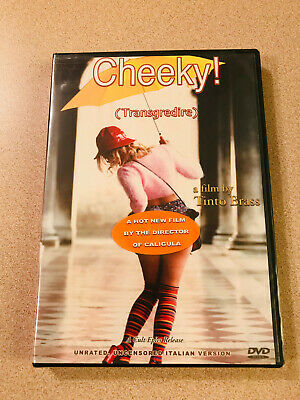 Tinto Brass DVD 'Cheeky!' Unrated Italian Version Sealed New Cult Epics Rlse OOP