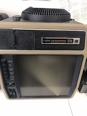 FREE Vintage Kodak Ektagraphic Model 275 Audio Viewer Projector