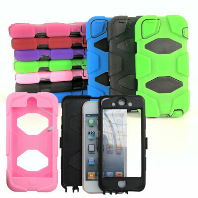 Heavy Duty Shock Proof Case For iPod Touch 5G 6G Work Tough Tradesman Cover