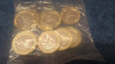 HMS Belfast £2 pound coin *SEALED BAG* uncirculated including a flag error coin