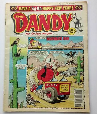 The Dandy 3 January 1998 Collectable Childrens Kids Humour Comic Number # 2928
