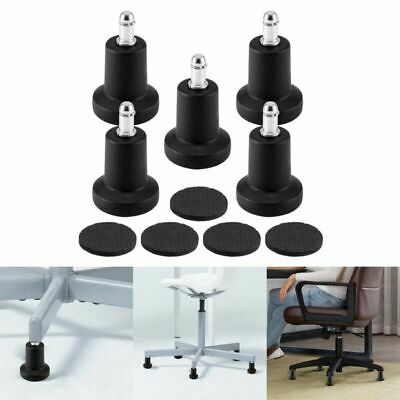 5pcs Roulette pour Remplacement De Chaise De Bureau Office chair glides tool
