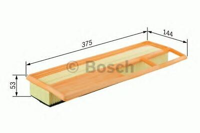 Engine Air Filter Air Element Oe Quality Replacement Bosch F026400002