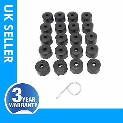 20X Wheel Nut Bolt Cover Cap 1X Puller Tool VW Golf Mk5 MK6 1K0601173&6X0012243