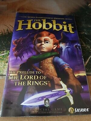 The Hobbit PS2 MANUAL ONLY!!!!!!