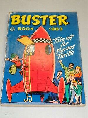 Buster Book British Annual 1963 Fleetway Publications<