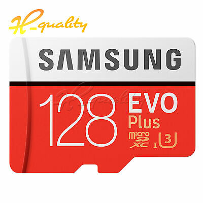 SAMSUNG EVO Plus 128GB microSD SDHC SDXC TF Card with SD Adapter