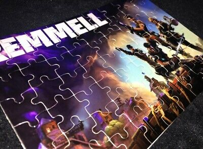 Personalised Gamer Gift Puzzle Boys Teenagers Fully Personalised Photo Gifts