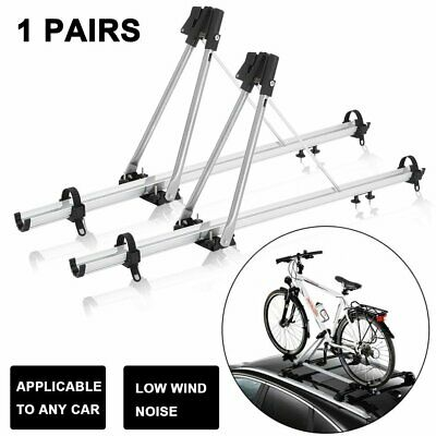 2 x Speed Aluminium Cycle Carrier Roof Mounted Bike Bicycle Car Rack Holder