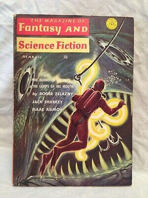 Magazine of Fantasy and Science Fiction - Mch 1965, Roger Zelanzny, J H Brennan