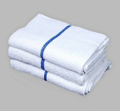 60 pack blue stripe bar mop 16 x 19 mops restaurant kitchen cleaning towel 33oz