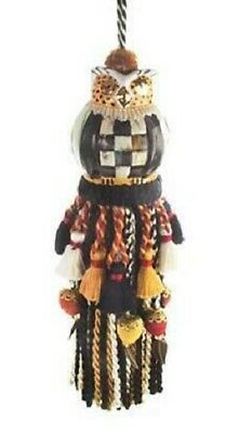 Mackenzie Childs    Courtly Check Owl Tassel