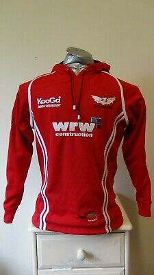 Scarlets Rugby Union Training Top Hoodie Small