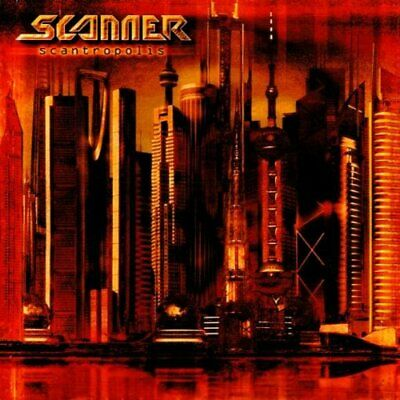 Scanner - Scantropolis - Scanner CD G1VG The Cheap Fast Free Post The Cheap Fast