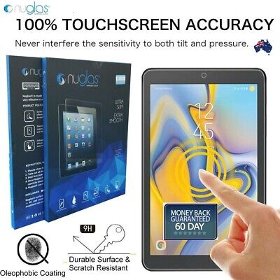 "Genuine Nuglas Tempered Glass Screen Protector for Samsung Galaxy Tab A 8.0""2018"