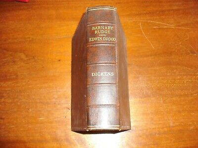 Vintage HB Book - Barnaby Rudge & Edwin Drood by Charles Dickens (Circa 1930s)