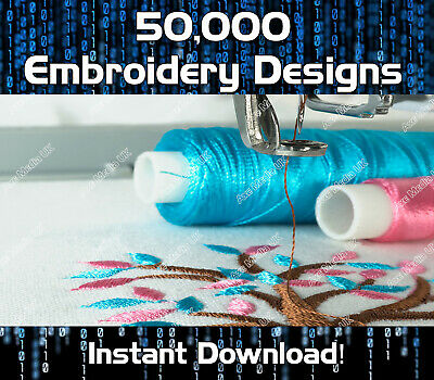 50,000 Embroidery designs - Brother Baby Lock  - Disney -  PES Format - Download