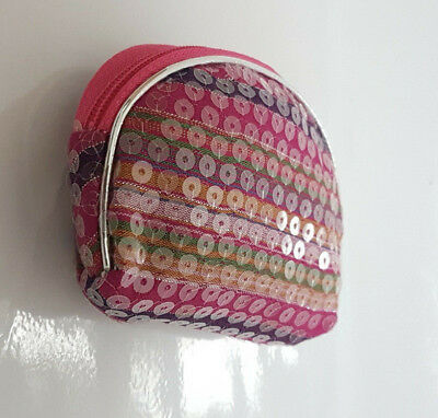 Girls Pink Purse Coin Card Pouch Wallet Purse Ladies Small Coin Purse