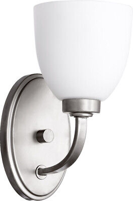 Quorum International 5560-1-64 Reyes Wall Sconce Classic Nickel