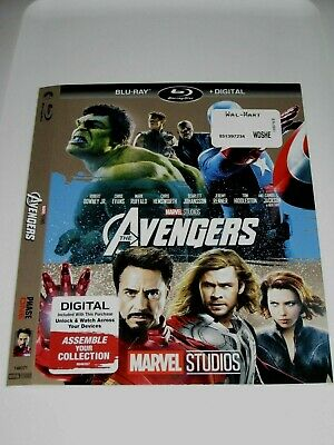 The Avengers (Blu Ray slip cover only) No Disc No Blu Ray