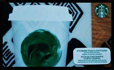 """Canada Series Starbucks """"TRIBUTE 2013"""" Gift Card - New No Value Mint"""