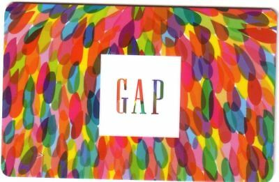Gap Mint Gift Card From Canada Bilingual No Value