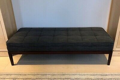 George Smith - Ex Display large footstool. ottoman bench stool