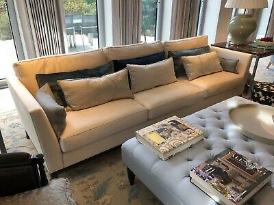 Kingcome - Mayfair extra large 4 seater sofa settee, ex display piece rrp £7,200