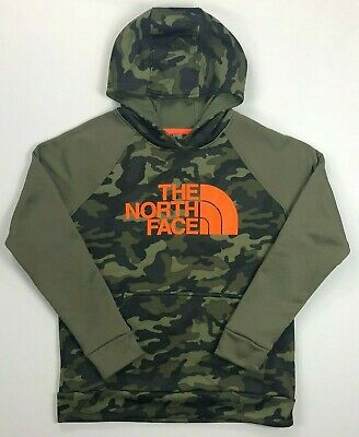 6c90ed5ae8d BOY'S YOUTH THE North Face Camouflage Surgent 2.0 Pullover Hoodie Size L  (14/16)