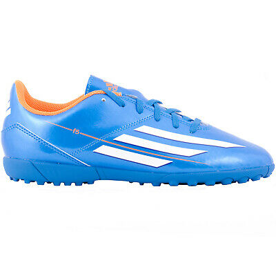 adidas Performance Boys Kids F5 TRX Astro Turf Training Football Trainers - Blue