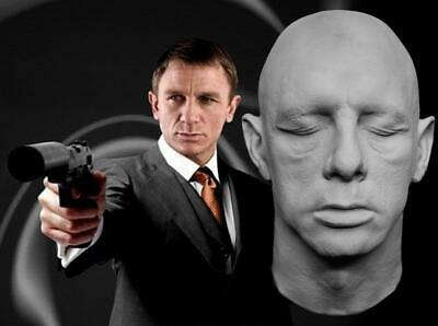 Daniel Craig 1:1 Life Mask - Skyfall - The Girl With The Dragon Tattoo