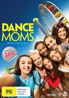 Dance Moms - Season 6 Collection 1 - DVD  92VG The Cheap Fast Free Post
