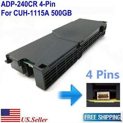 Power Supply ADP-240CR Replacement for SONY PS4 CUH-1115A 500GB Repair Part