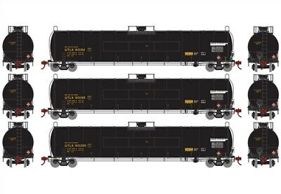Athearn ATHG25496 33,900 Gallon LPG Tank Car Union Tank Car UTLX 3-Pack