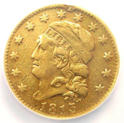 1813 Capped Bust Gold Half Eagle $5 - Certified NGC VF Details - Rare Gold Coin!