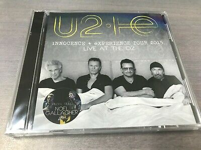 U2 - LIVE AT THE O2 INNOCENCE + EXPERIENCE TOUR 2015 2CD SET oasis muse