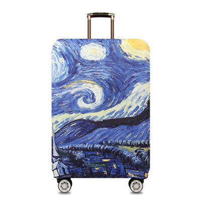 Starry Sky Elastic Travel Luggage Suitcase Cover Dust-proof Protector Bag NEW