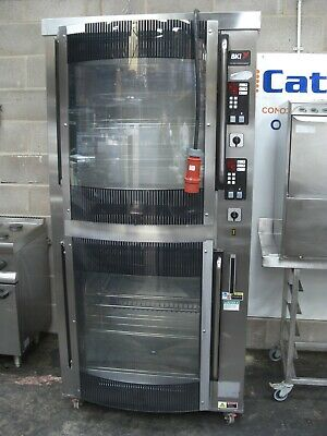 BKI VGG-16-C - Curved Front Double Chicken Rotisserie Oven (3 Phase) £1999+VAT