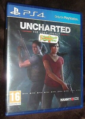 Uncharted The Lost Legacy Playstation 4 PS4 NEW SEALED Free UK p&p Pal SONY