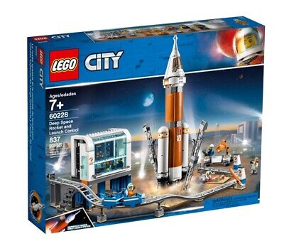 Lego City 60228 Deep Space Rocket And Launch Control Set Unopened Robot Box Rare