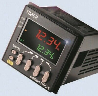 Omron H5CX-A11D-N One Shot Multi Function Time Delay Relay Socket 24 V dc - New