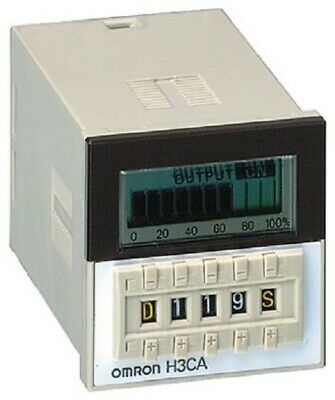 Omron H3CA-8 AC100/110/120 Power ON Delay Multi Function Time Delay Relay - New