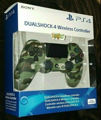 Official SONY DualShock 4 Wireless Controller V2 GREEN CAMO Playstation 4 NEW