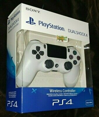 Official SONY DualShock 4 Glacier WHITE Wireless V2 Controller Playstation PS4